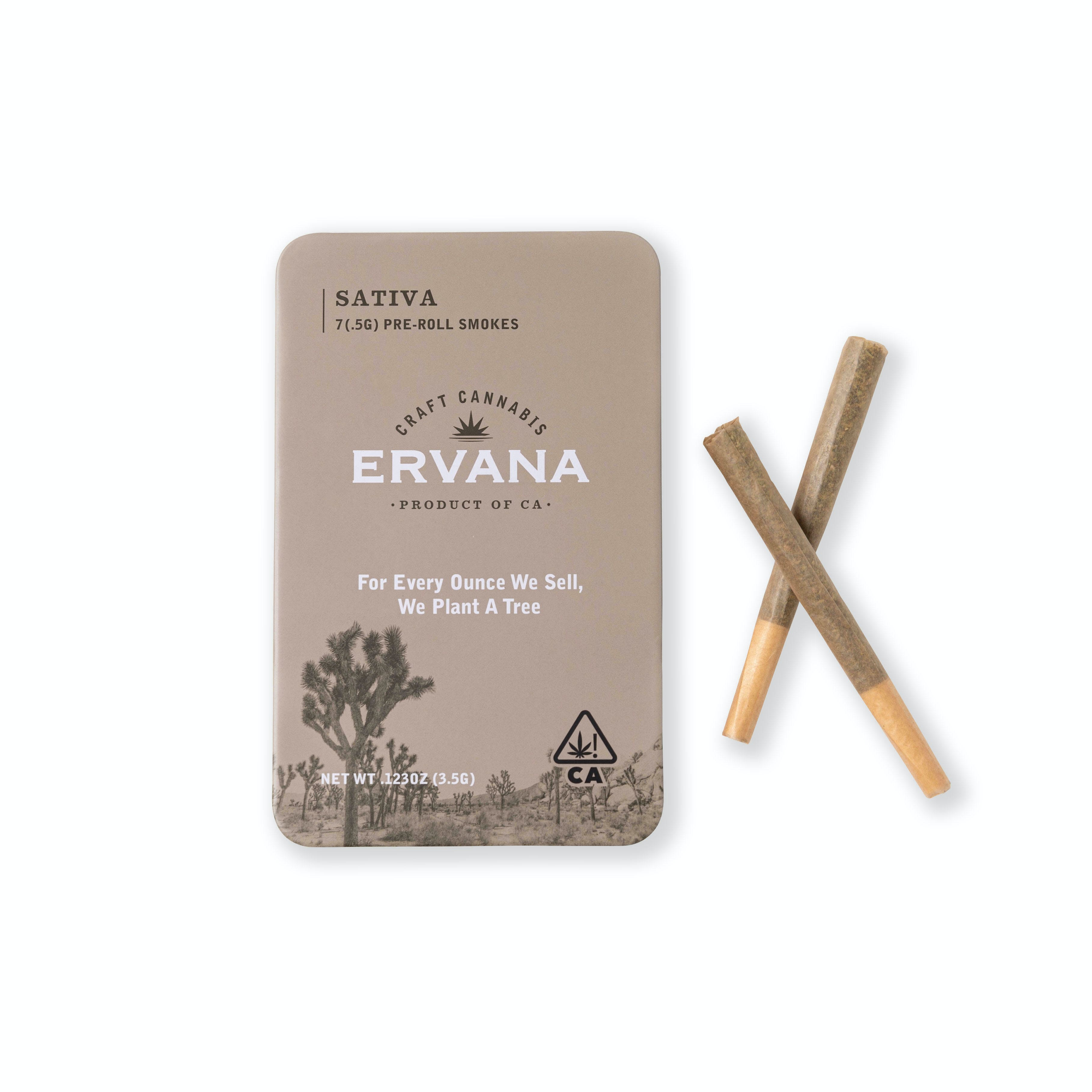 7 Pack of .5G Pre-Roll Smokes - Sativa