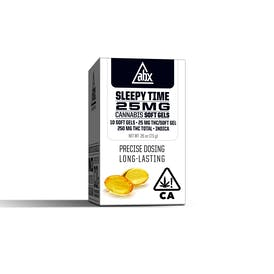 Sleepy Time 25mg THC Soft Gels (10ct)