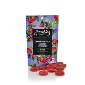 Jamberry Fruit Chews - 100 mg THC - OK