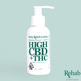 Rehab - High CBD Lotion
