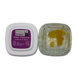 Concentrate - Entourage Effect - Diamonds and Sauce - Grape Frosting - 1g