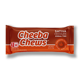 Sativa Chocolate Taffy Chews | 250mg THC - OK