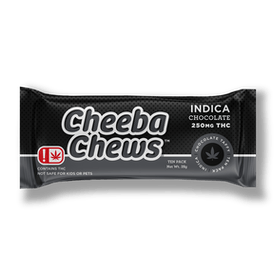 Indica Chocolate Taffy Chews | 250mg - OK