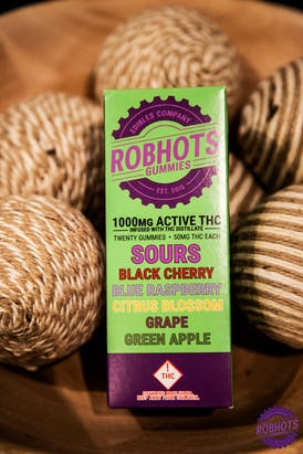 ROBHOTS - Sours Gummy Multipack 1000mg (MED)
