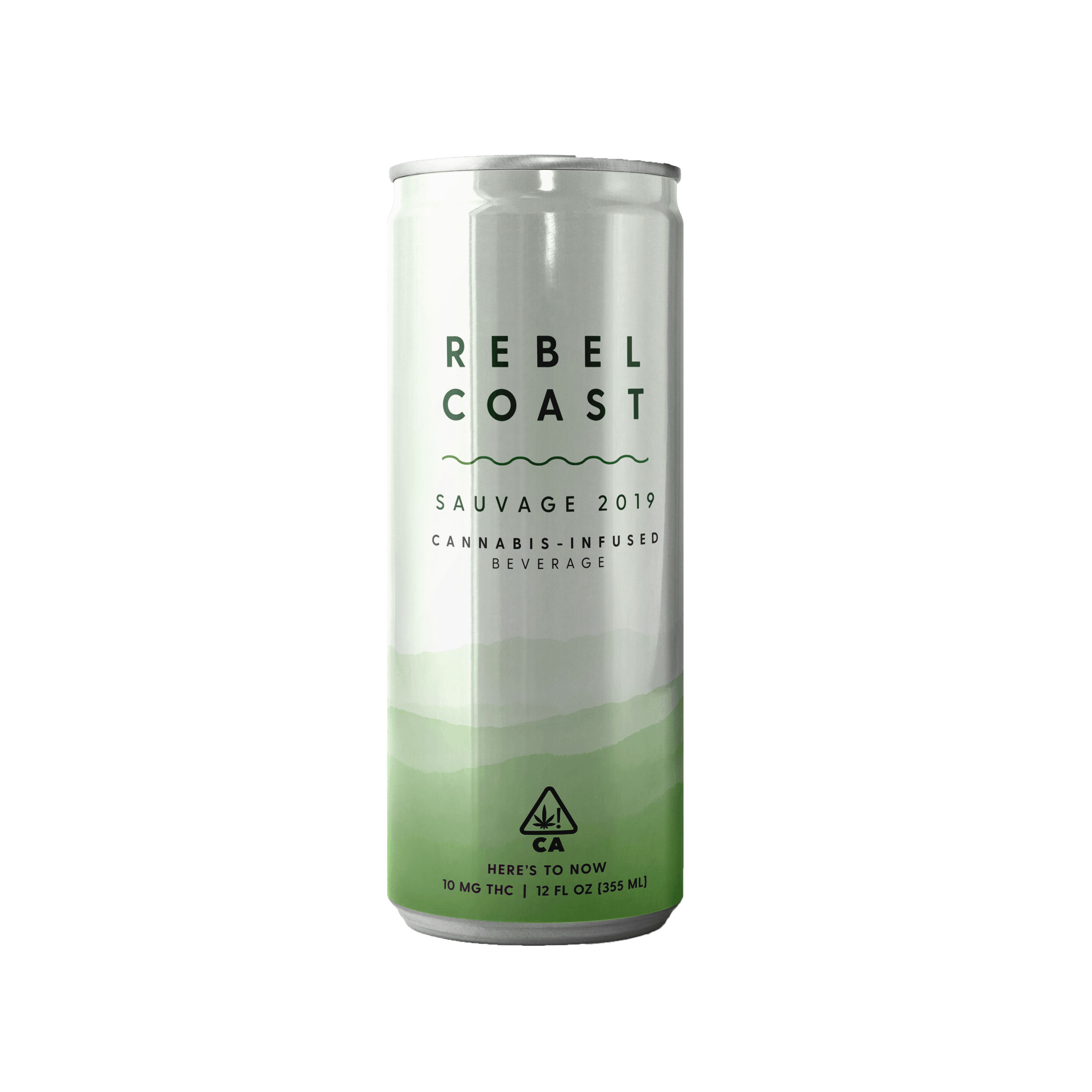 Rebel Coast Cannabis Infused Sauvage Slim Can