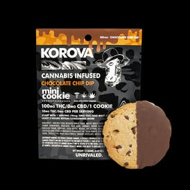 Korova - Chocolate Chip Mini Dip, 100mg
