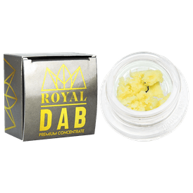 Jelly Cake Caviar Crumble | OZ ROYAL DAB