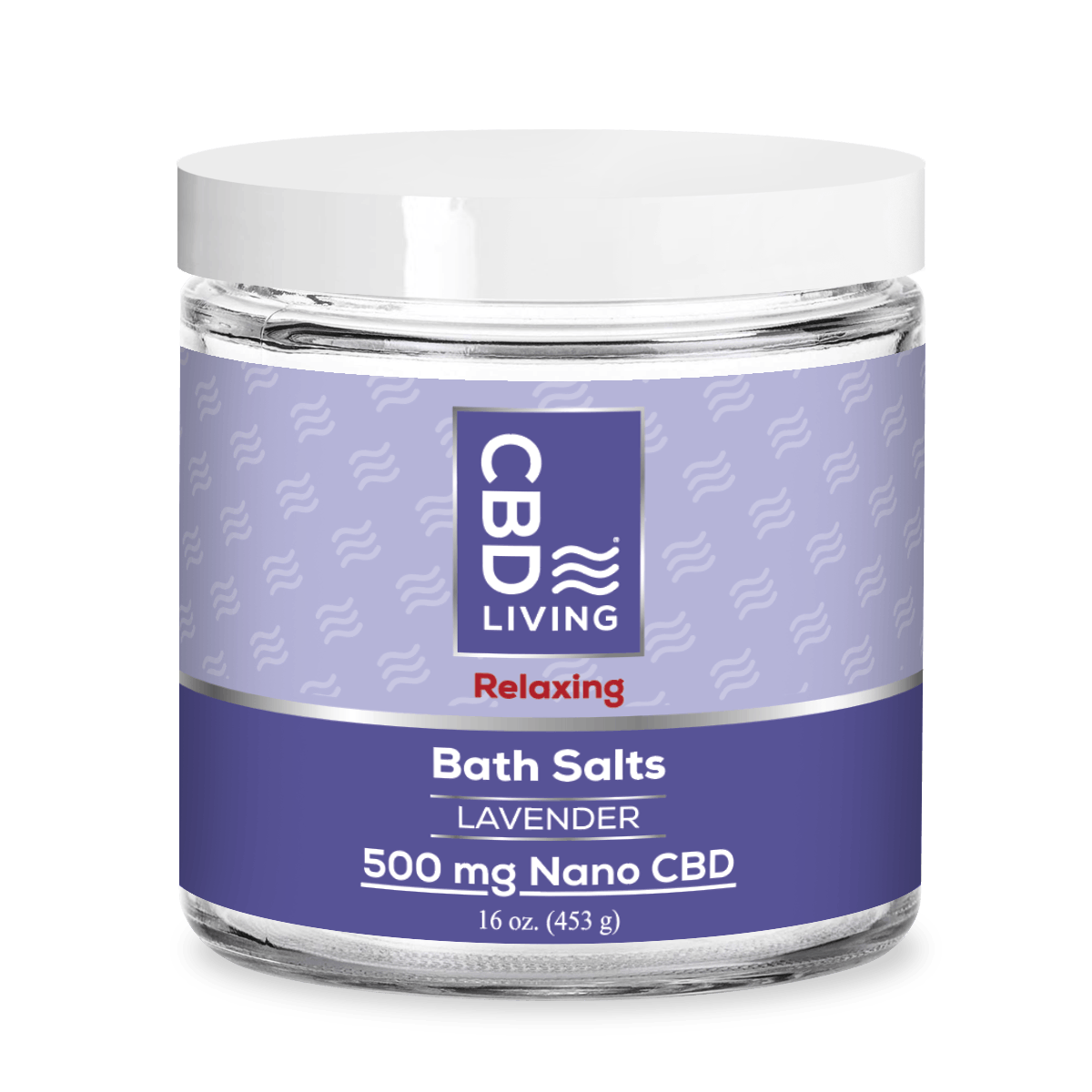 CBD Bath Salts 500 mg - Lavender