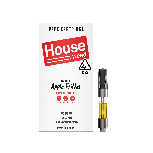 House Weed | Apple Fritter Vape