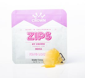 Zips By Crown King Louis Shatter 1g