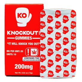 Knockout Gummies 200mg